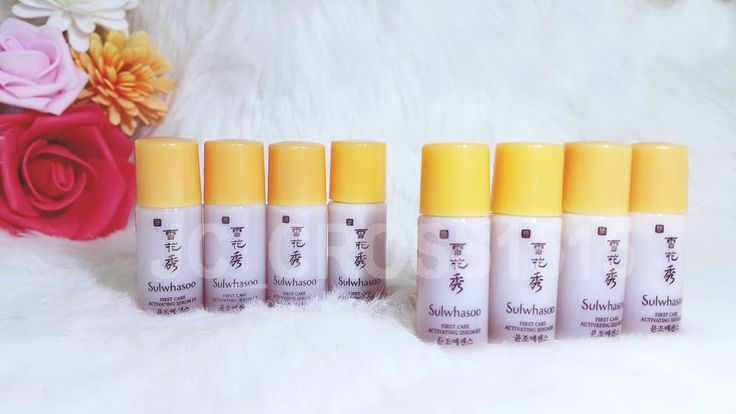 Sulwhasoo First Care Activating Serum EX 4ml Sample Essence 8 pcs  AMORE PACIFIC #Sulwhasoo