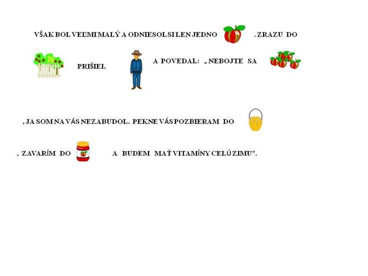 Kto oberie ovocie. 2