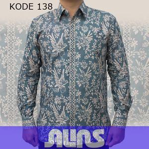Baju Batik Modern Kode 138 ini merupakan batik cap yang terbuat dari bahan katun. Dibuat dengan jahitan yang rapih dan nyaman saat dipakai.