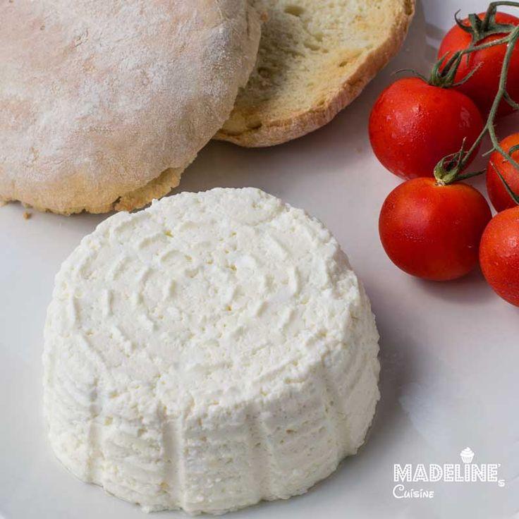 Branza de vaci de casa / Homemade cottage cheese