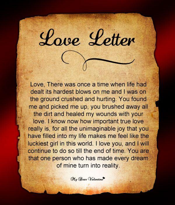 Love Letter For Him #90