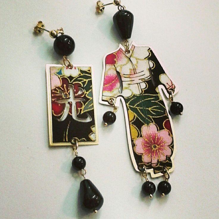 Novità  kimono in stoffa e argento  Meraviglioso!!!!!