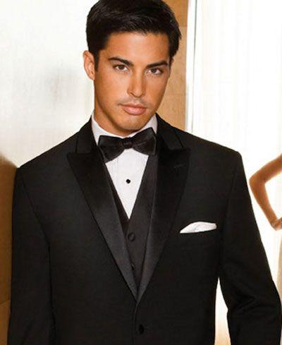 Imagini pentru all black prom tux