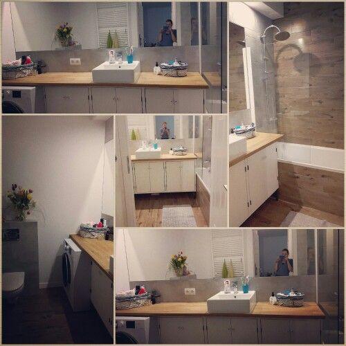 New bathroom #eco #ecobathroom #myproject #design #myhome #wood #interiordesign #ournewhome