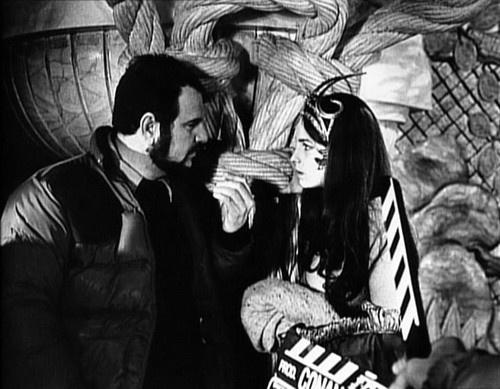 John Milius y Valérie Quennessen en Conan el Bárbaro