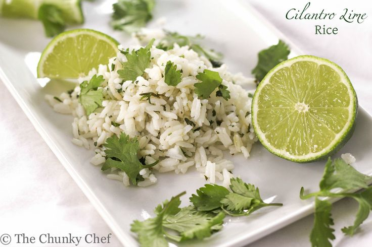 Everyone loves that zesty and fresh cilantro lime rice made famous by Chipotle. You should definitely try making your own, it tastes way better!