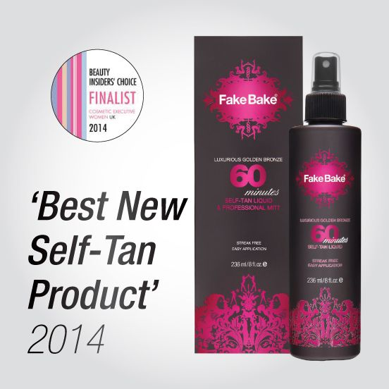 We are delighted to be a FINALIST in CEW's  Awards 2014 for Best New Self Tan Product for 60 Minutes Tan! The finals are in May and we are really excited about attending!