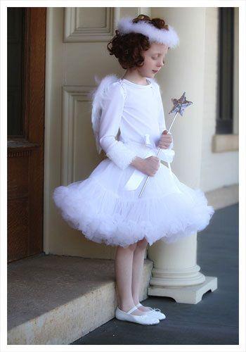 Child Tutu Angel Costume - Kids Angel Halloween Costumes