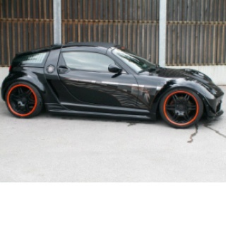 Smart car roadster, I would get one