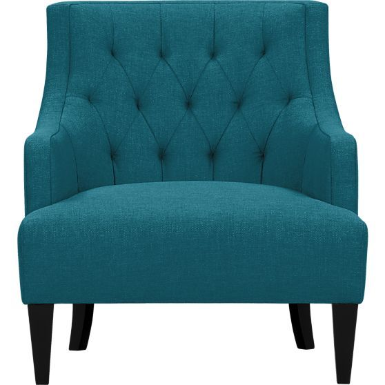 Tess Chair in Chairs   Crate and Barrel: Cozy Decor, Decor Ideas, Living Rooms, Kitchens Wall, Barrels Chairs, Furniture From Barrels, Accent Chairs, Crates And Barrels, Tess Chairs
