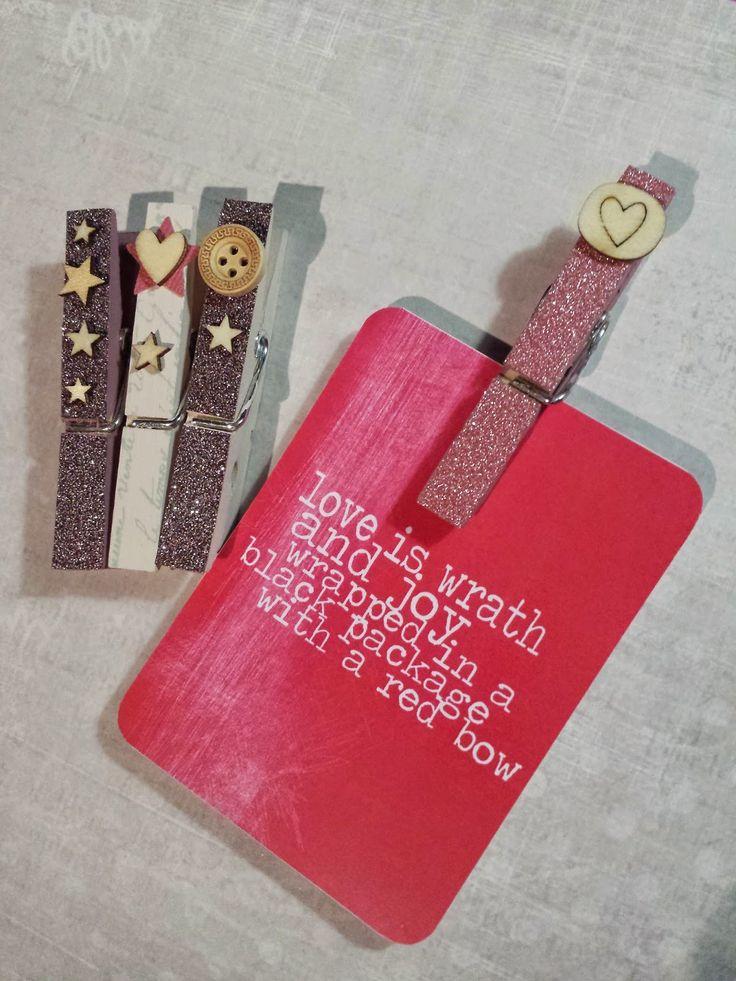 Tutorial para decorar tus pinzas con @scrapibuki #scrapbooking #diy #tutorial