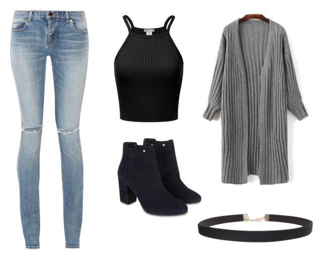 """Casual"" by juanaguzman on Polyvore featuring Yves Saint Laurent, Monsoon and Humble Chic"