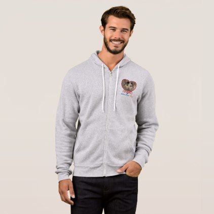 Full Zip Hoodie  $65.30  by Tabbys_Place_Cats  - cyo diy customize personalize unique