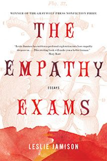 The Empathy Exams: Essays by Leslie Jamison. Review at: http://cdnbookworm.blogspot.ca/2015/09/the-empathy-exams.html
