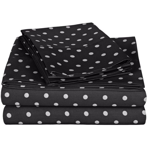 polka dot twin xl sheet set 59 liked on polyvore featuring home - Twin Bed Sheets