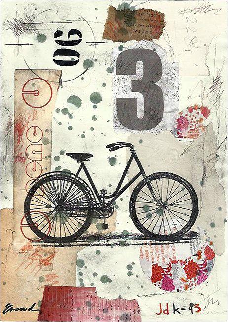 Print Art Poster Collage Abstract Mixed Media Art por rcolo en Etsy