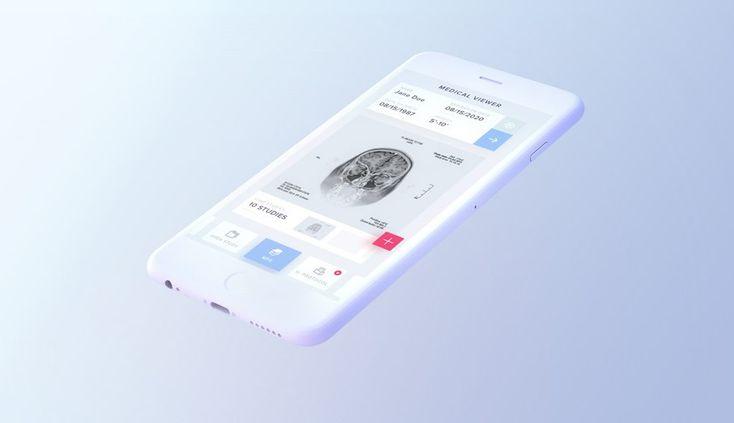 White iPhone 7 Mockup