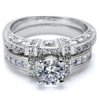 Tacori - Sync your ideal engagement ring up to a matching wedding band  - Engagement Ring