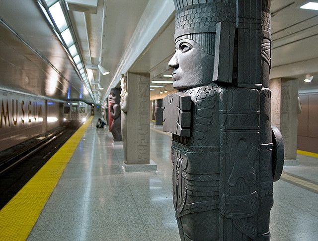 Museum Station in Toronto