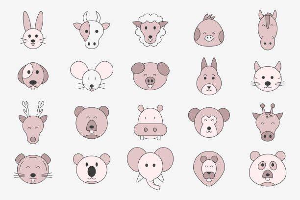 1 601 Rabbit Animal Illustrations Royalty Free Vector Graphics Clip Art Istock Animal Illustration Free Vector Graphics Animals