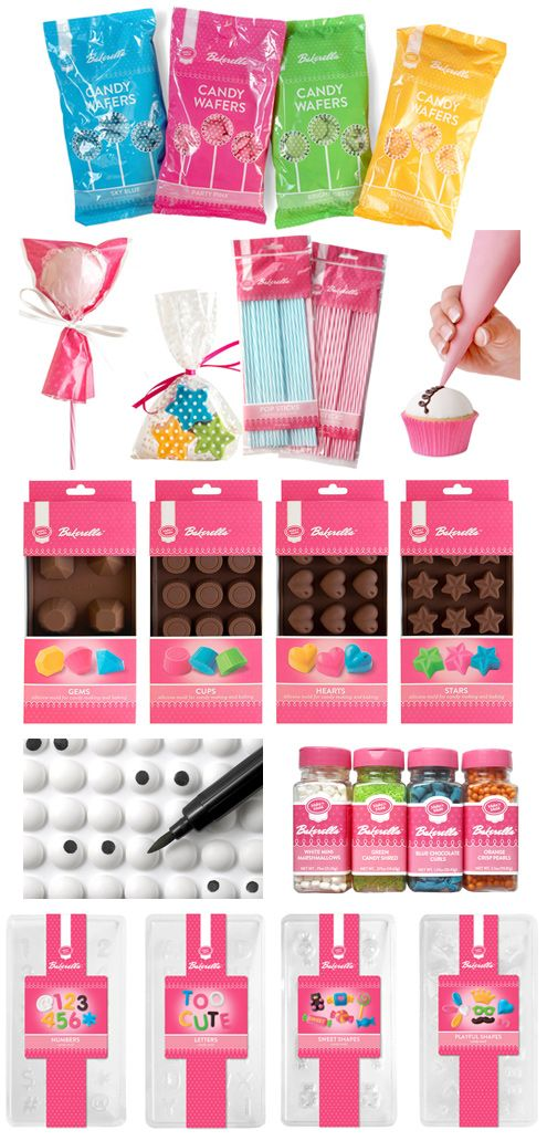 Candy wafers, candy molds and more