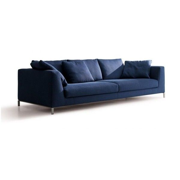 Ray Sofa By Antonio Citterio For Bu0026B Italia | Space Furniture ❤ Liked On  Polyvore Featuring