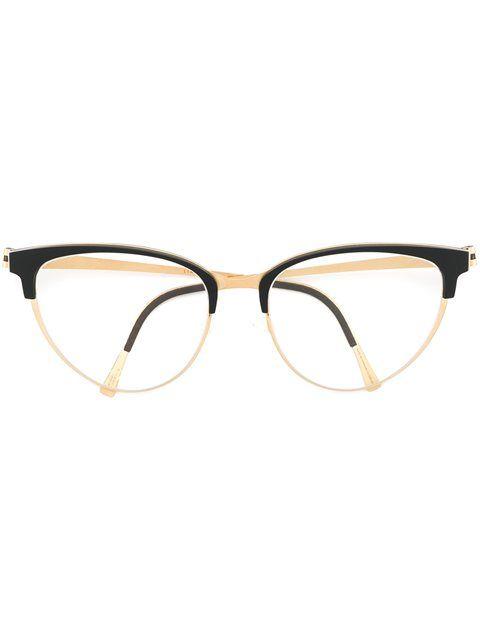 458723e0919f Lindberg Cat Eye Glasses - André Opticas - Farfetch.com