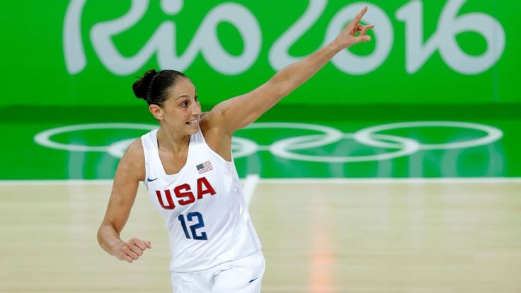 2016 Rio Olympics -- U.S. women rout Spain to win 6th straight hoops gold