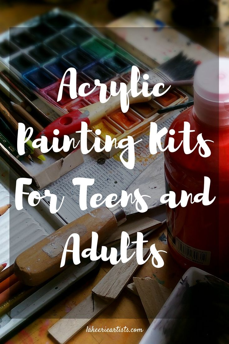 Acrylic Painting Kits For Teens and Adults