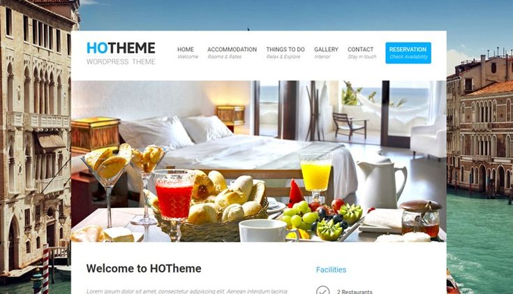 Hotheme is a beautiful, clean and free hotel WordPress theme you can use for your accomodation services website. This theme is made specially for hotel websites, so you will find features like rooms, facilities, reservation forms, reviews and many more. Build with responsive styling so your guest can make reservation even from mobile on the way. […]