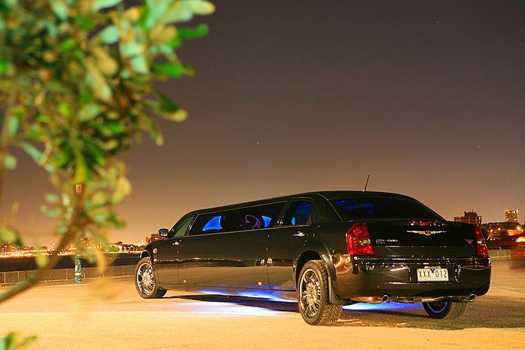 Stretch Limo Hire Melbourne - Hot Black Limousines
