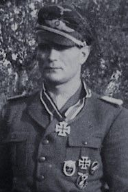 Major Erich Timm (1913-1997), Kommandeur Fallschirmjäger Regiment 12, Ritterkreuz 03.10.1944
