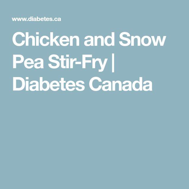 Chicken and Snow Pea Stir-Fry | Diabetes Canada
