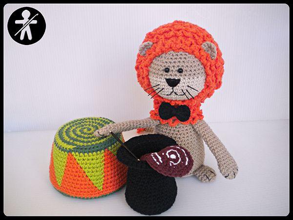 León Amigurumi Tutorial : 142 best leon tigre amigurumi images on pinterest crochet animals