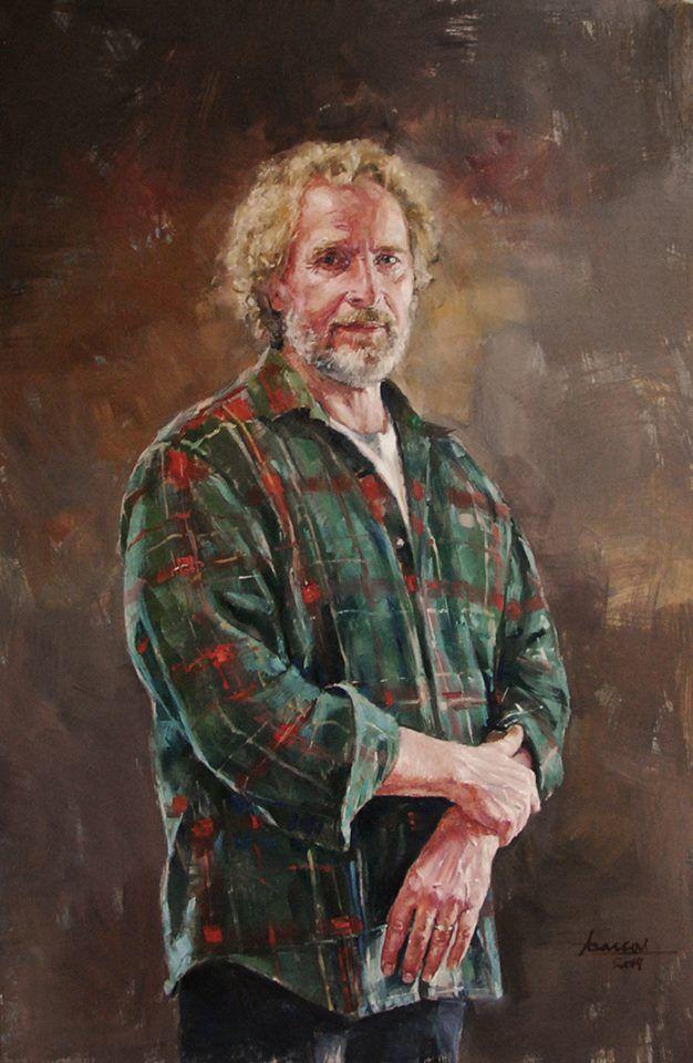 """painter A.Arponeva"", oil"