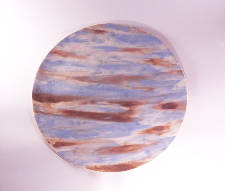 Sky unique plate, blue plate, handmade plate, ceramic plate, handcraft pottery, ceramic and pottery, wild clay plate, ceramic decor by CeramicsNaturalist on Etsy