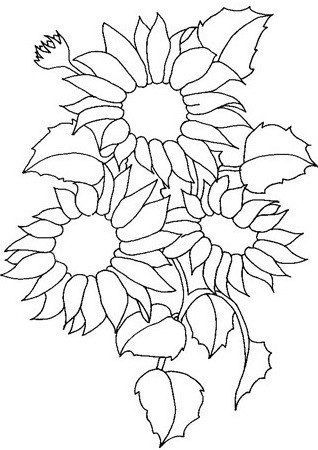 248 best Sunflower embroidery patterns images on Pinterest