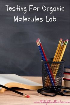 This brings in a little bit of inquiry into the traditional testing for organic molecules lab. Students make predictions and state why they are making certain predictions before actually testing the substances. Once they test the substances, they record the final colors and why they got certain results for each substance.