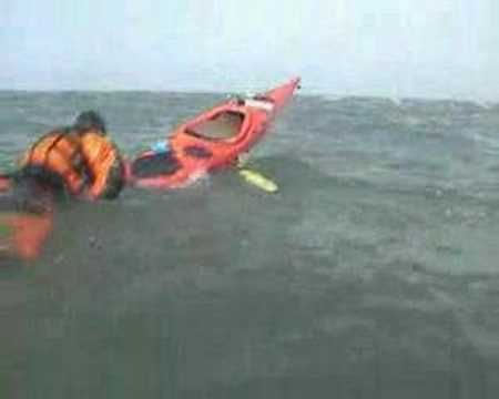 Sea Kayak Self Rescue - The Ladder - YouTube