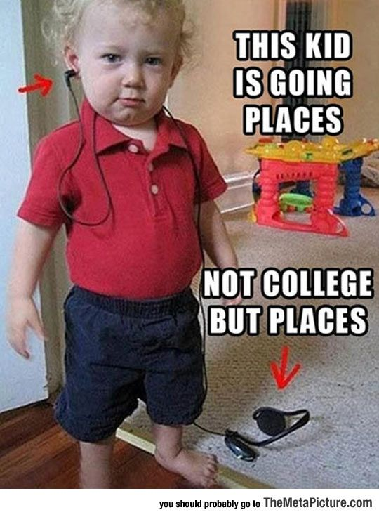 He's Going Places