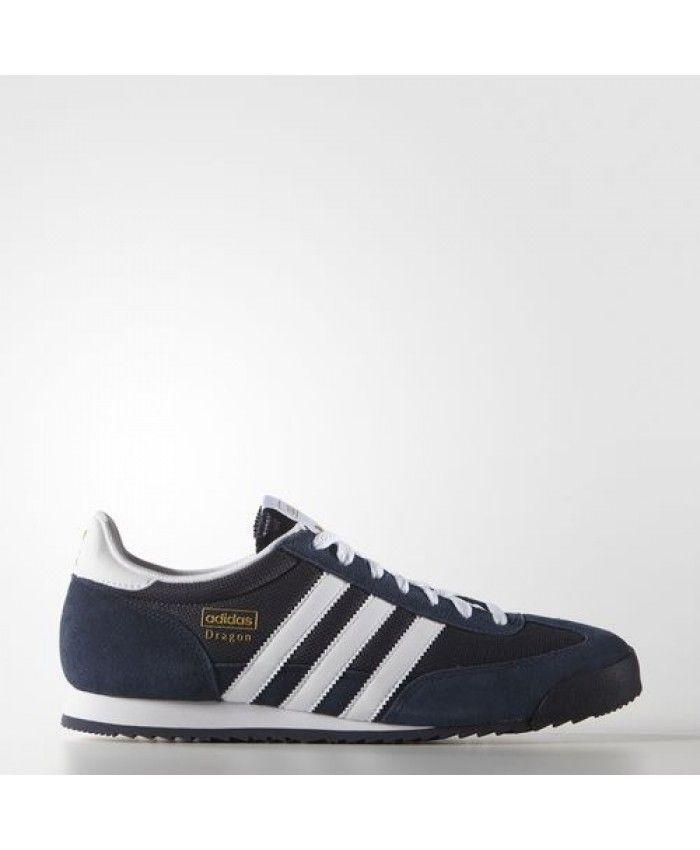 talento grueso Víspera de Todos los Santos  Adidas Dragon Mens Shoes Dark Blue White Gold Metallic G50919 | Adidas  dragon, Adidas gazelle mens, Shoe crafts