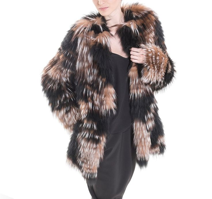 This long fox coat will get all eyes on you