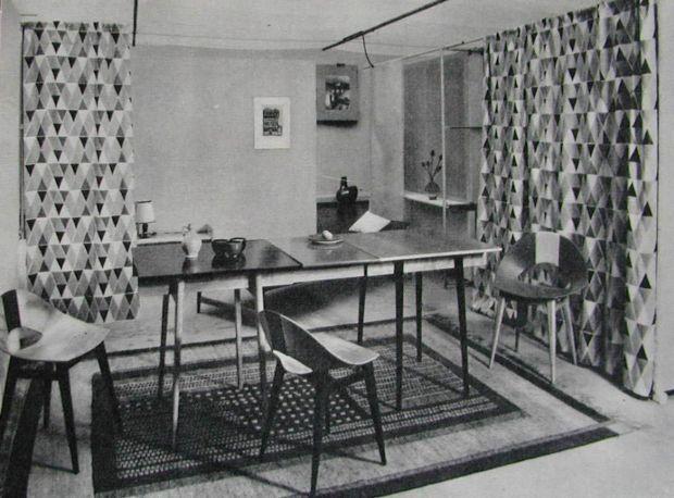 Wnętrze mieszkania, proj. Teresa Kruszewska
