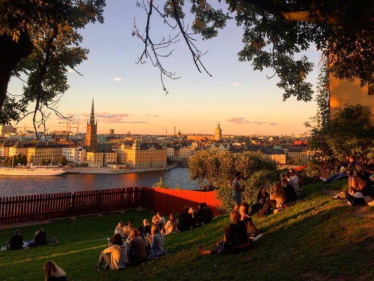 Utsikten från Ivar Los park