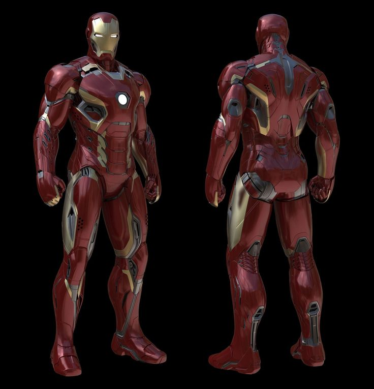 Iron Man Mark 45! This is by FAR the most difficult suit I've ever done to date. So much fun and an amazing design by Phil Saunders. This image is my model + Phil's paintover to get the final image.