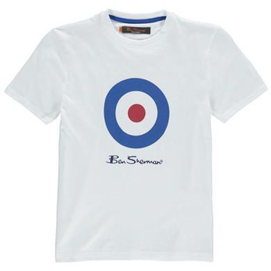 Ben Sherman | Ben Sherman Target T Shirt | Junior Boy's T Shirts