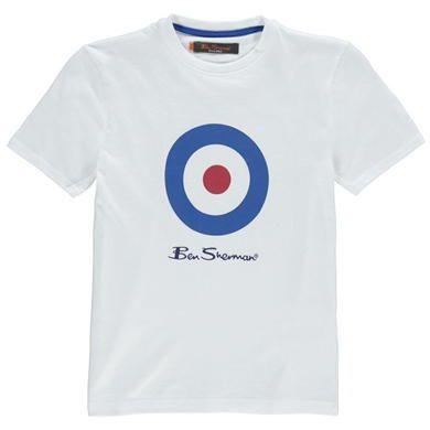 Ben Sherman | Ben Sherman Target T Shirt | Junior Boy's T Shirts