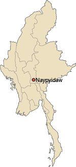 """Naypyidaw, és la capital de Birmània. Situada a la vila de Kyatpyae, al municipi de Pyinmana, a la divisió de Mandalay. El seu nom significa """"Ciutat real"""" o """"Seient de reis"""" i el seu nom va ser anunciat durant el transcurs del Dia de les Forces Armades celebrat el març de 2006, data considerada com la inaugural de la ciutat."""