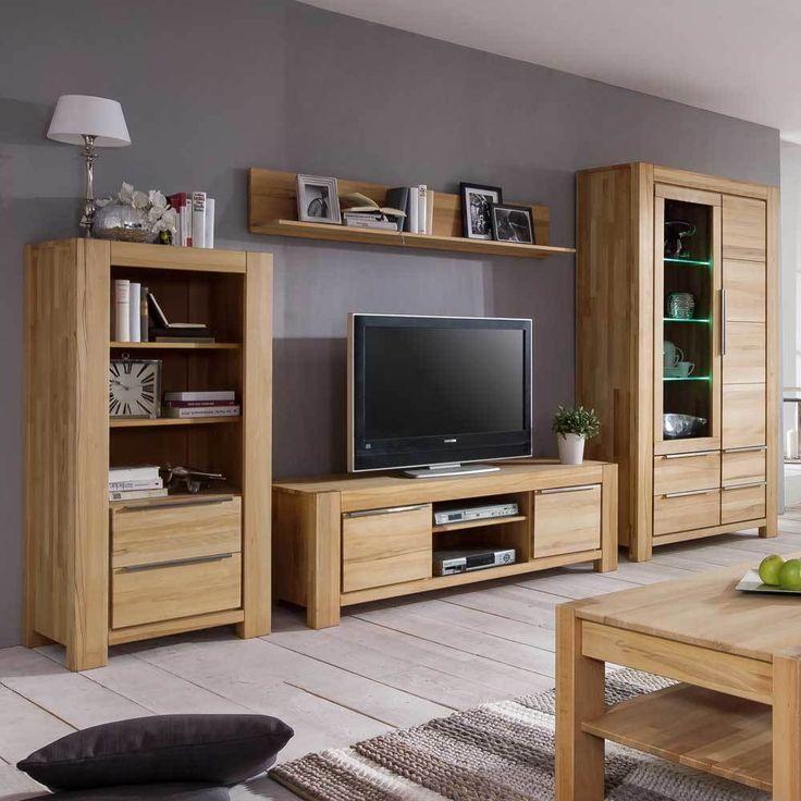 Die besten 25+ Massivholzschrank Ideen auf Pinterest - wohnzimmerschrank modern wohnzimmer