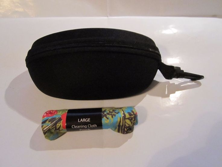 Maui Jim Sport Case And Large Polishing Cloth Pouch
